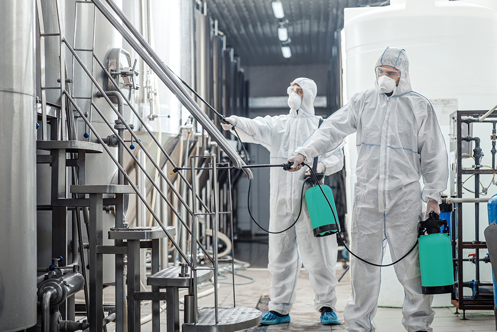 Cleaning for Industrial Spaces